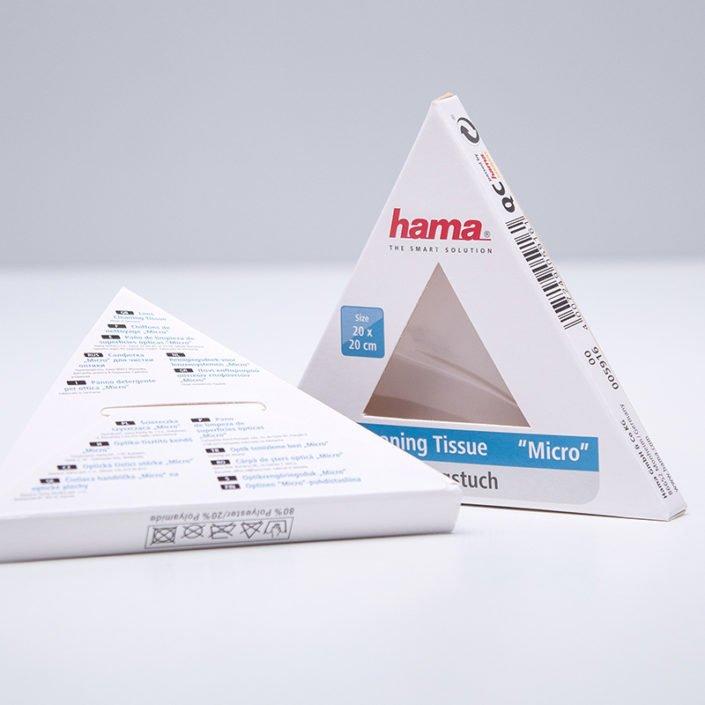 DruckArt Faltschachtel Pyramide hama