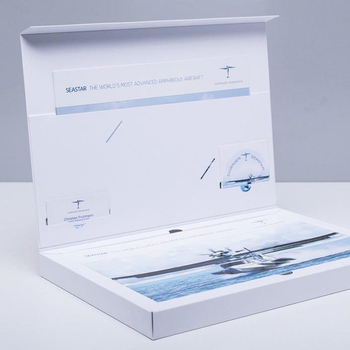 DruckArt Klappverpackung DORNIER SEAWINGS