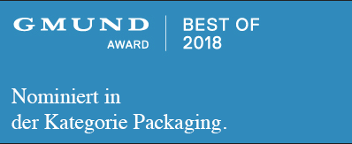gmund award 2018 | nominiert in der Kategorie Packaging