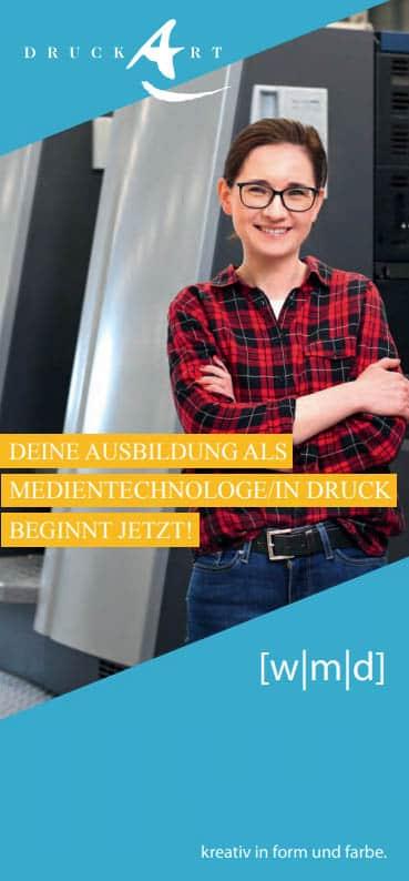 Ausbildung Medientechnologe Druck DruckArt