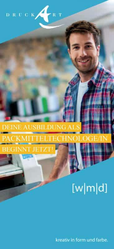 Ausbildung Packmitteltechnologe DruckArt