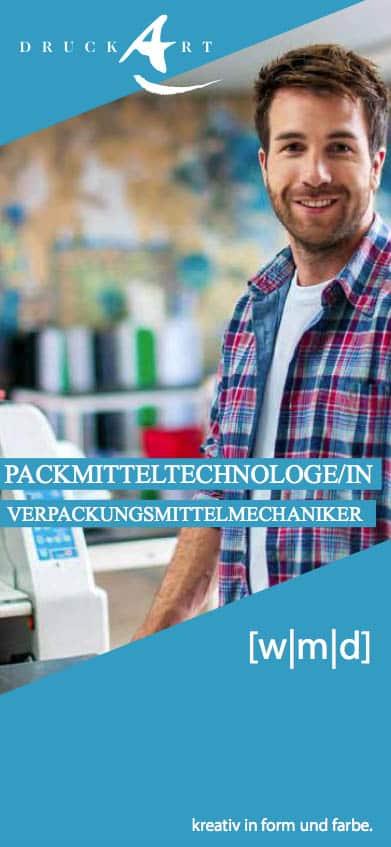 Stellenangebot Packmitteltechnologe