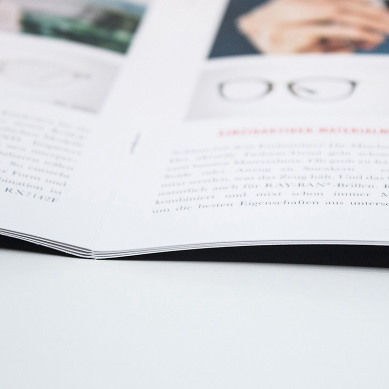 Broschüre Rückstichheftung DruckArt