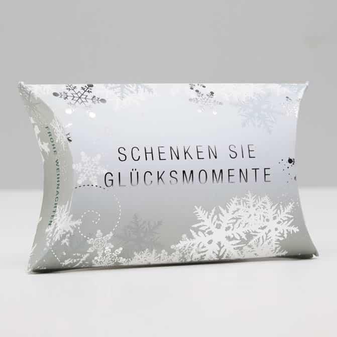 Kissenschachtel Geschenkverpackung DruckArt
