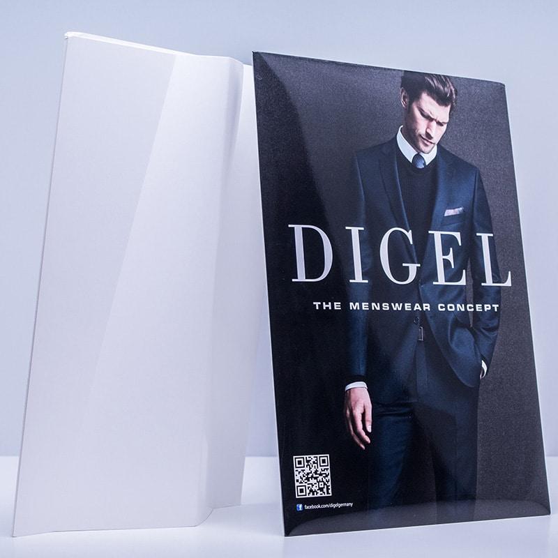 Leichtplakat DIGEL DruckArt