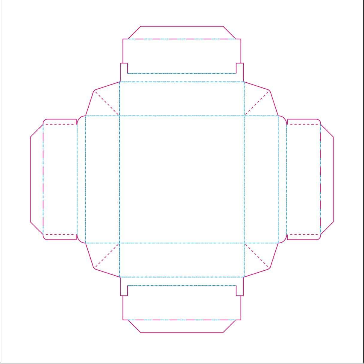 Screenshot Konstruktions Verpackungsdesign DruckArt