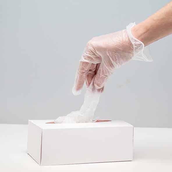 DruckArt Einweghandschuh Verpackung