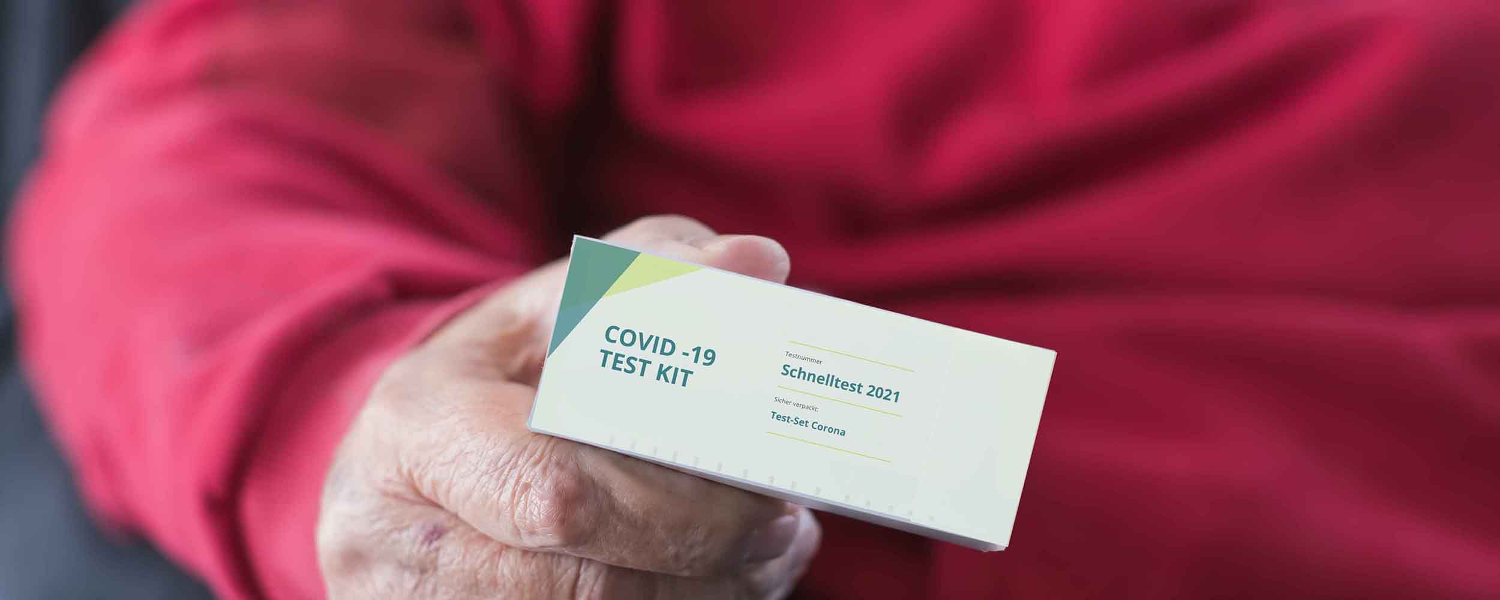 DruckArt Faltschachtel Covid-19 Test Kit Verpackung